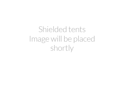 Shielded tents